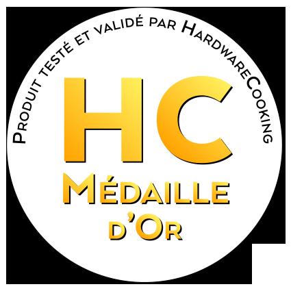 Médaille d'or par HardwareCooking