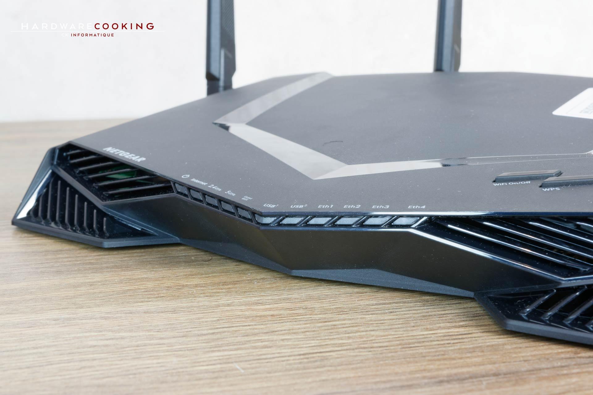 Test routeur Netgear Nighthawk Pro Gaming XR500
