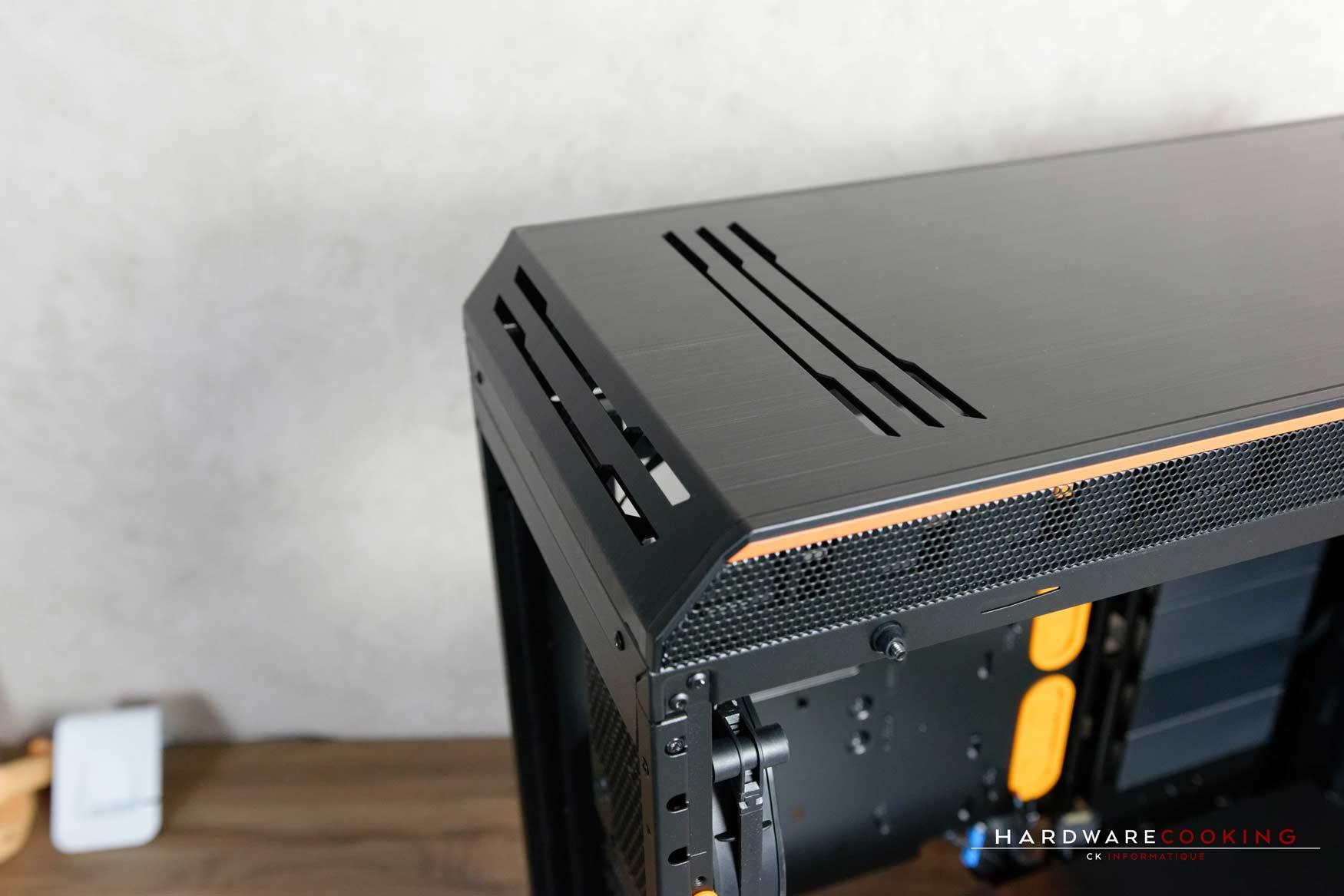 Test boîtier Be Quiet! Dark Base Pro 900 Rev. 2 Orange