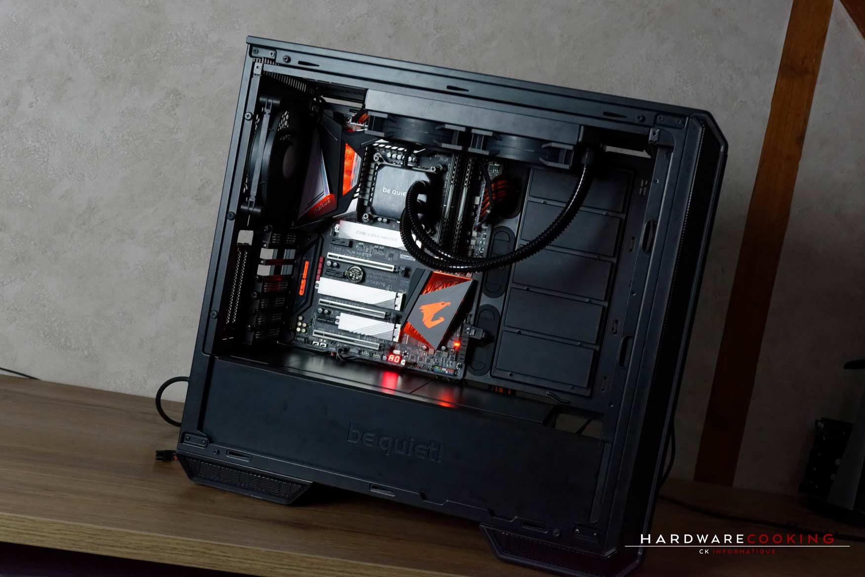 Configuration PC Gamer haut de gamme HardwareCooking CK Informatique
