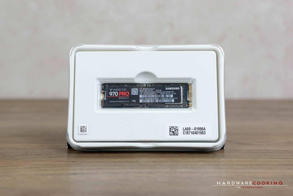 Test SSD Samsung 970 Pro 1 To