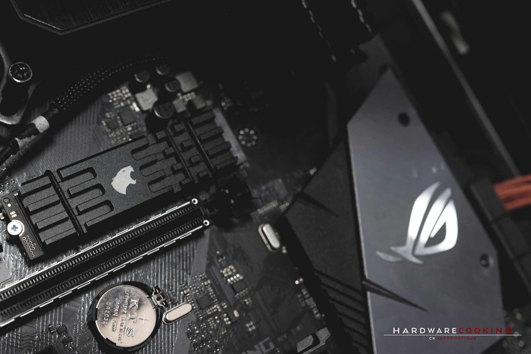 Test SSD Samsung 970 Pro 1 To dissipateur thermique HCM PRO EVO.X