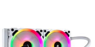 Watercooling AIO Corsair H100i RGB PLATINUM SE White edition