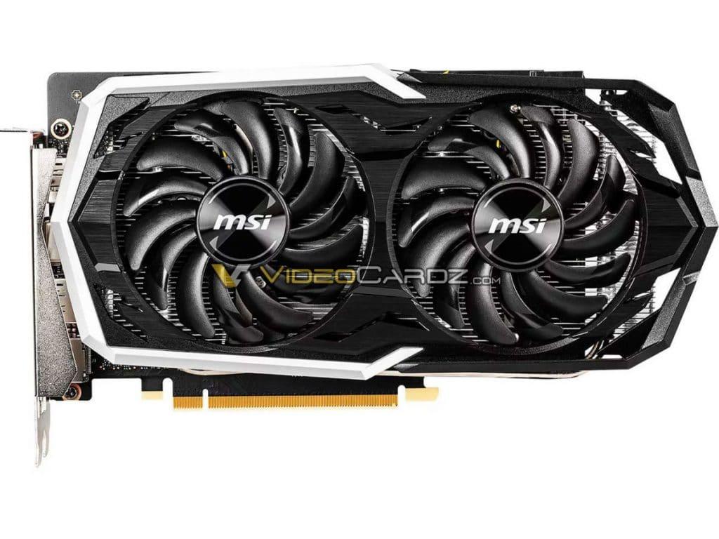 MSI GeForce GTX 1660 Ti Armor