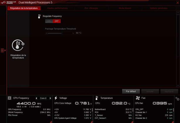 Test carte mère ASUS ROG STRIX Z390-E GAMING