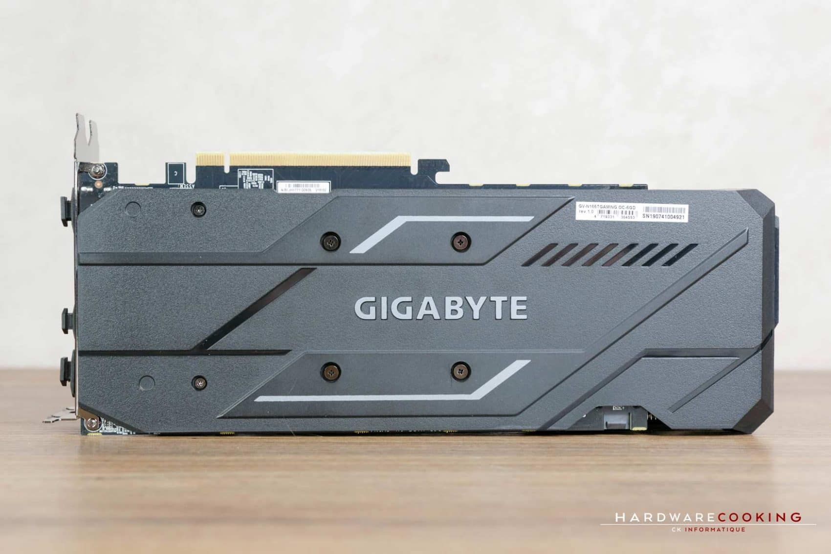 Test carte graphique Gigabyte GTX 1660 Ti GAMING OC 6G
