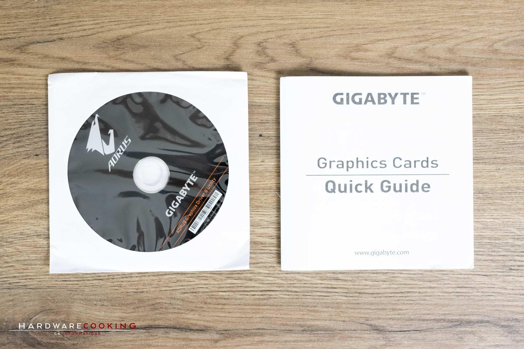 CD d'installation et guide démarrage