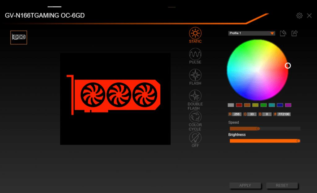 screen RGB FUSION