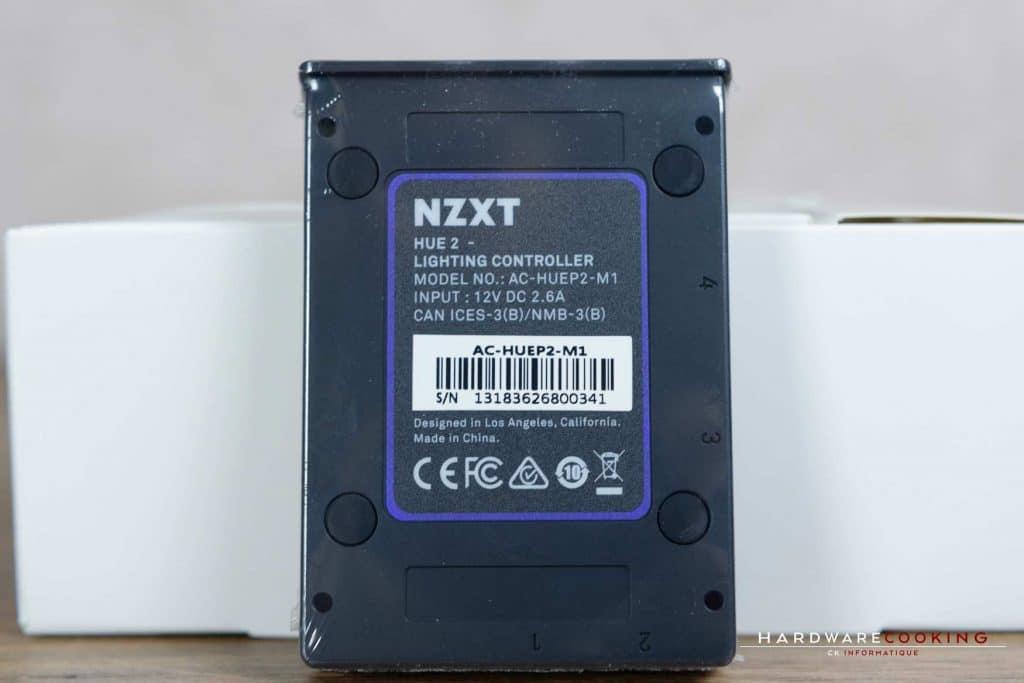 Test ventilateur NZXT Aer RGB 2 avec contrôleur HUE 2