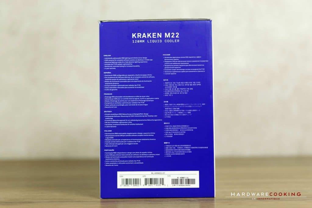 Test AiO NZXT Kraken M22