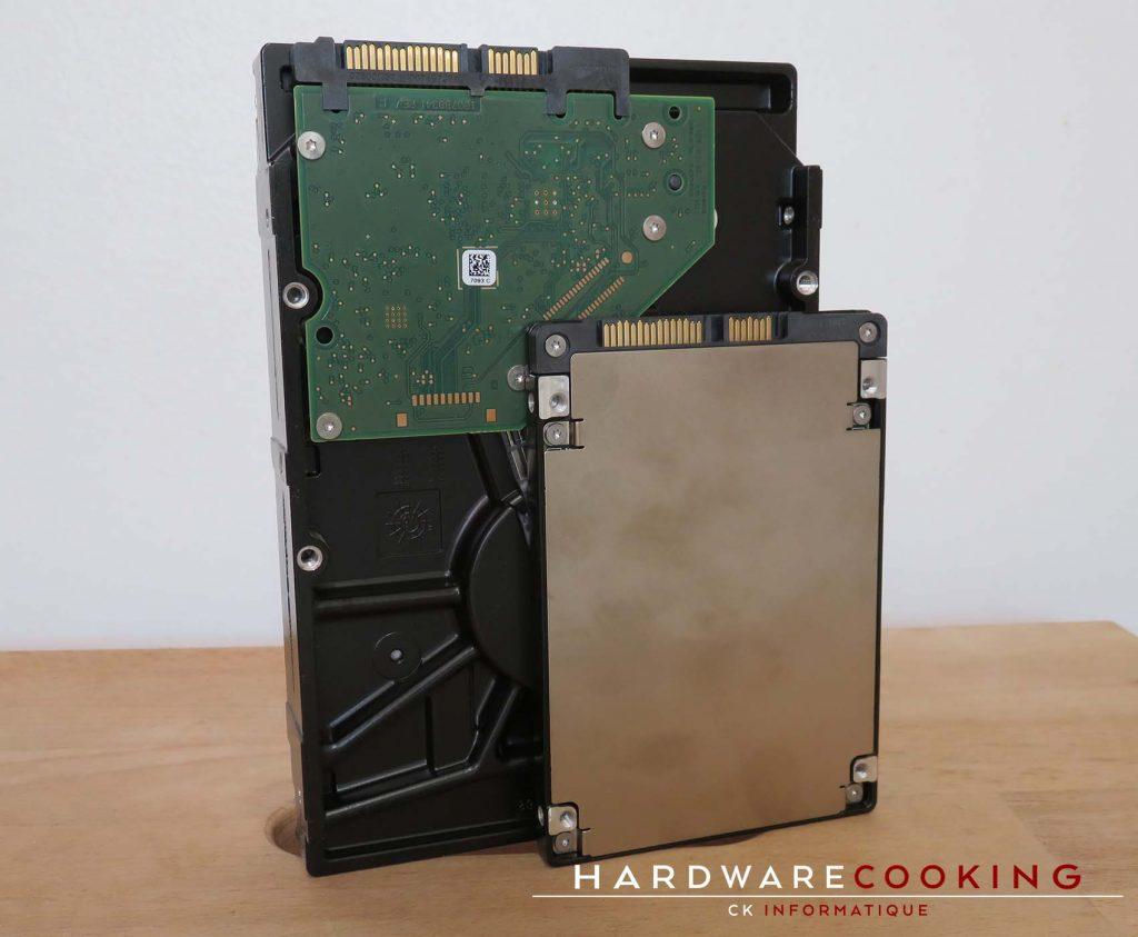 Test SSD Seagate IronWolf 110