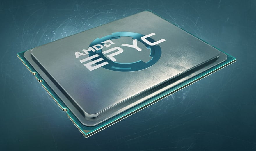 Processeur AMD Epyc Rome
