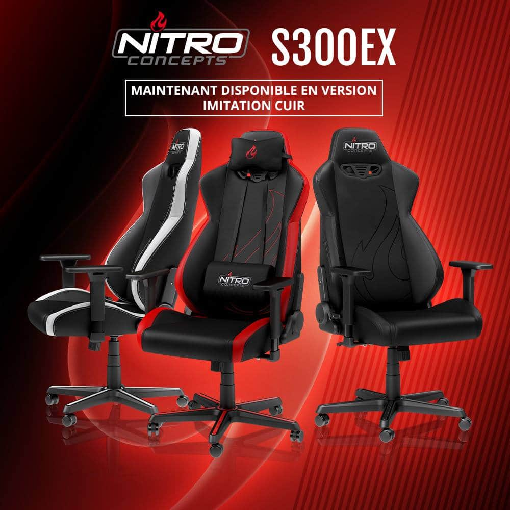 Fauteuil gamer Nictro Concepts S300EX