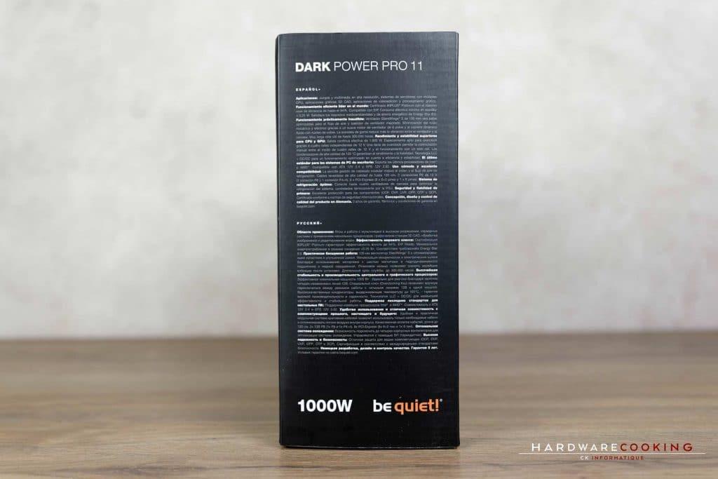 Test alimentation Be Quiet! Dark Power Pro 11 1000W