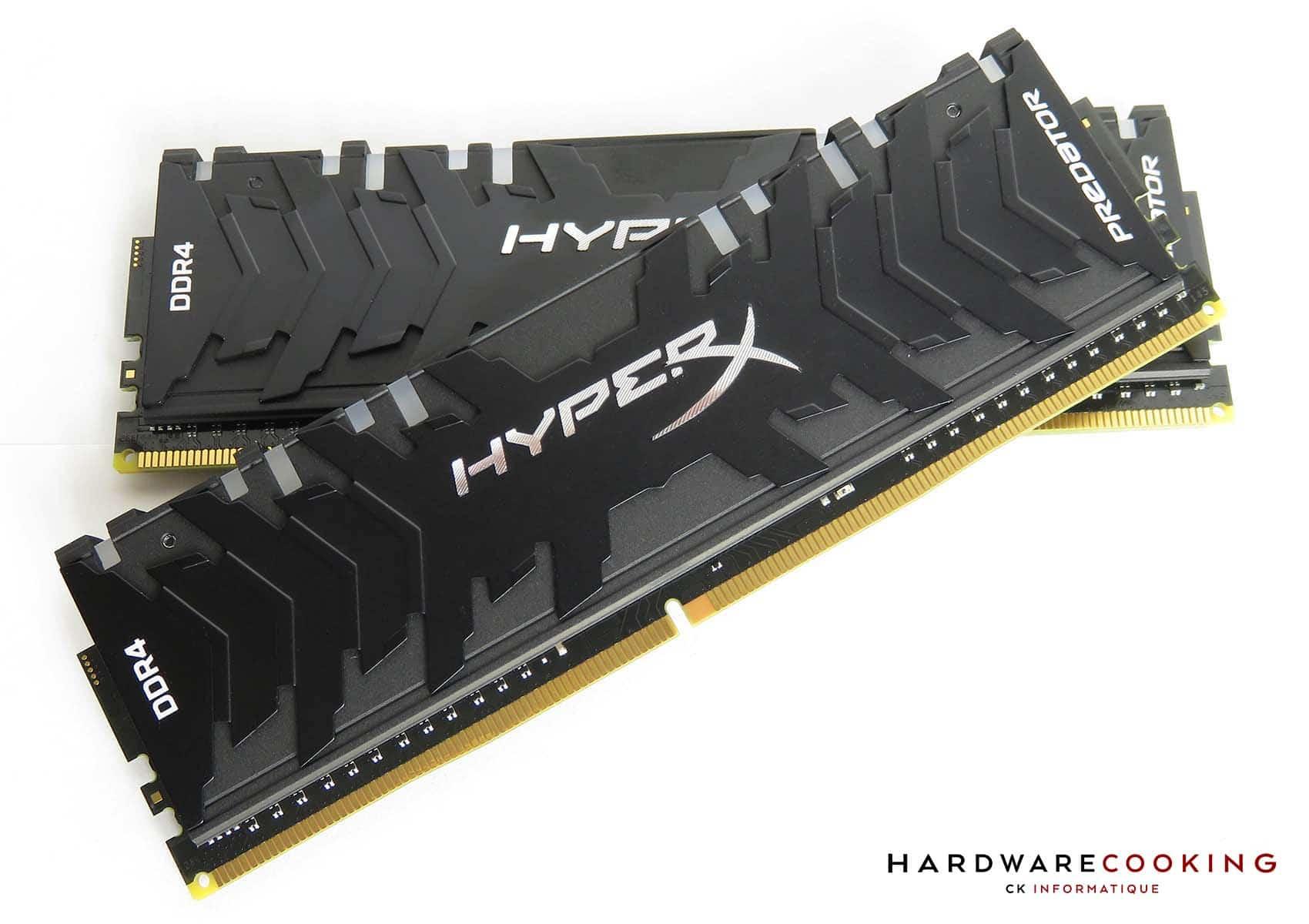 Test HyperX Predator RGB design
