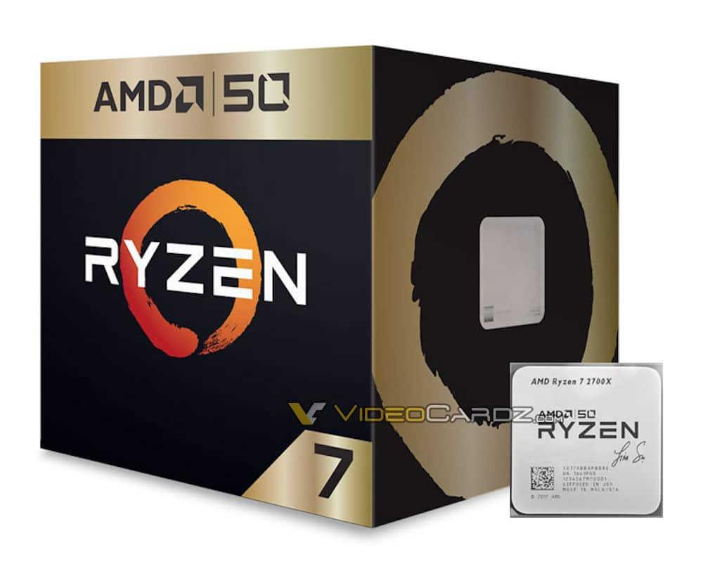 Ryzen 7 2700X 50th Anniversary Edition