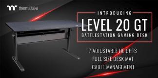 Bureau Thermaltake Level 20 GT Battlestation Gaming Desk