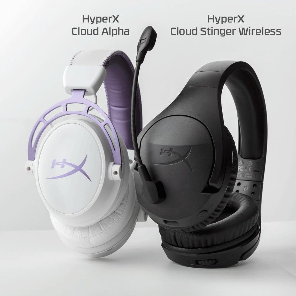Casques gamers HyperX Cloud Alpha et HyperX Cloud Stinger Wireless