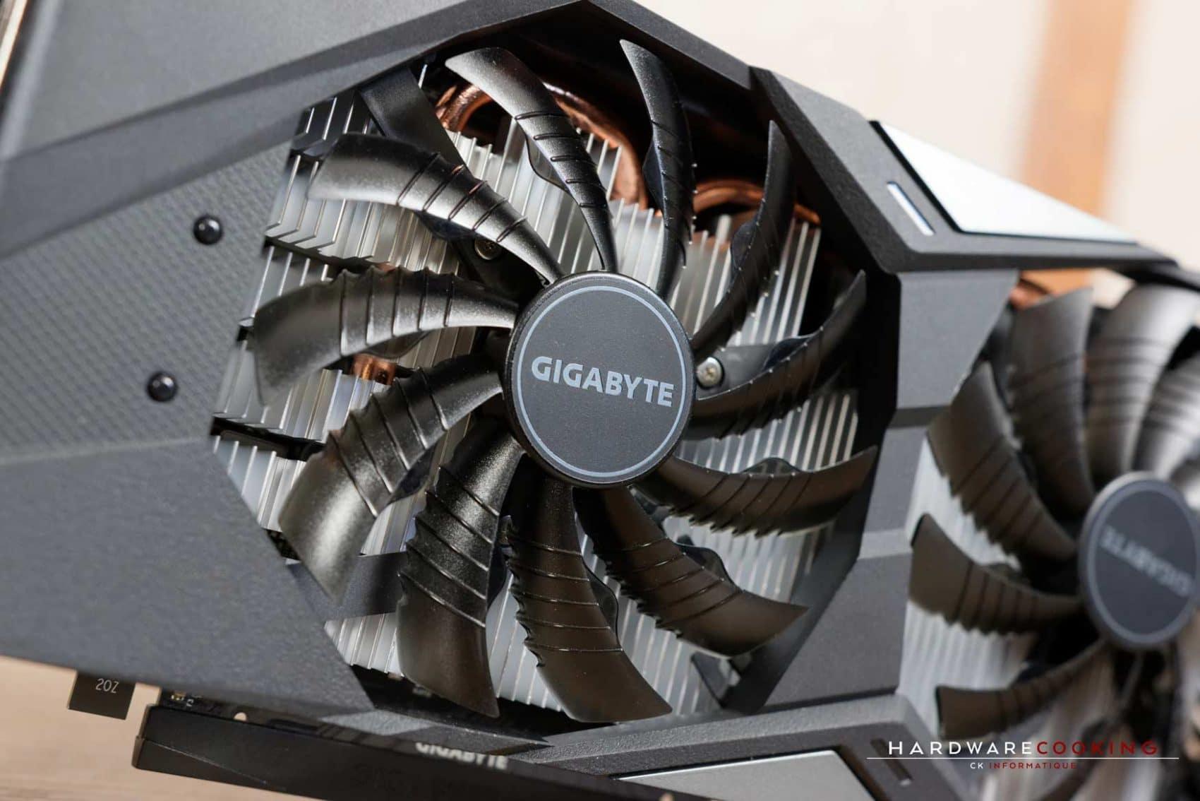 Système de refroidissement GIGABYTE GTX 1650