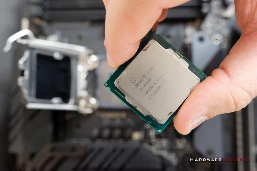 Tuto installation CPU Intel socket 115X
