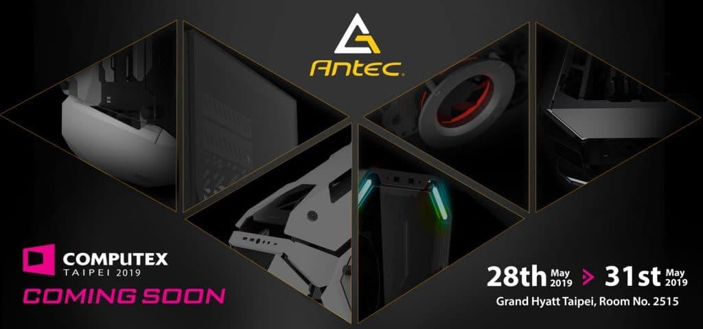 Antec coming soon Computex 2019