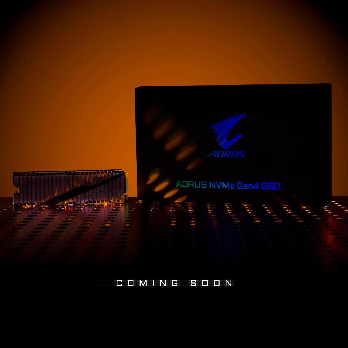 AORUS NVMe Gen4 SSD M.2 PCIe 4.0