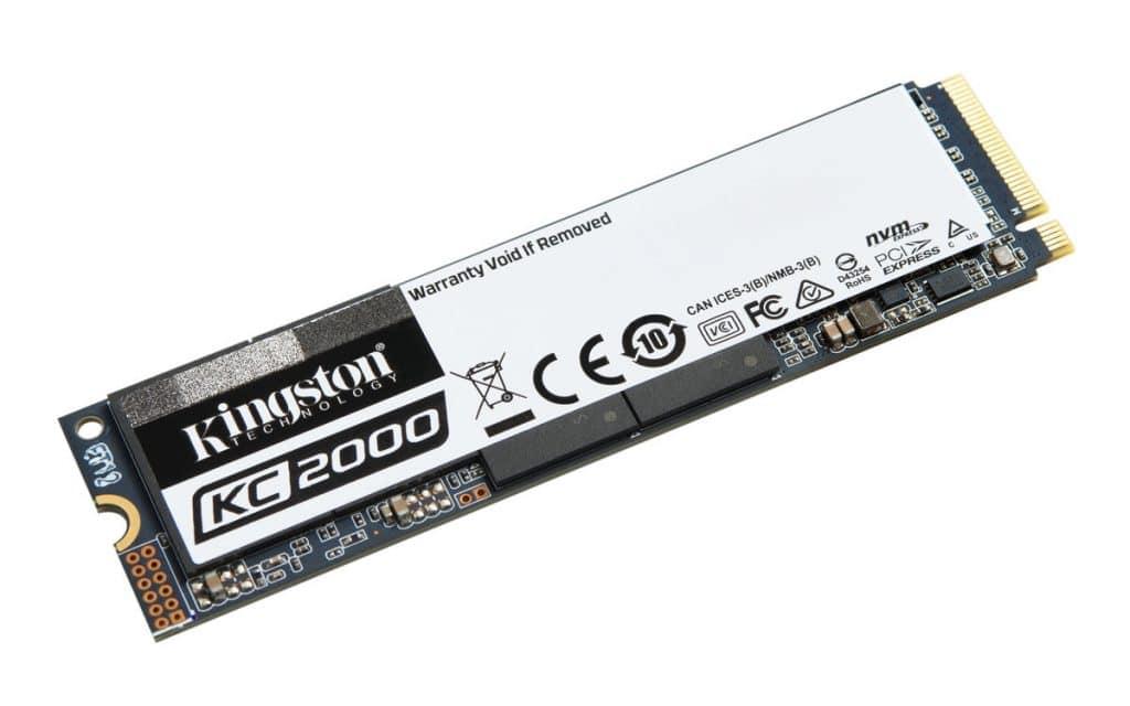 Kingston KC2000 NVMe PCIe SSD