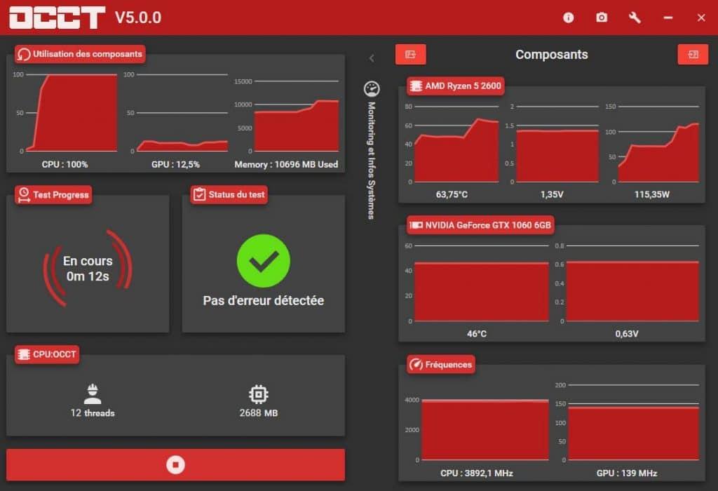 OCCT 5.0.0 benchmark