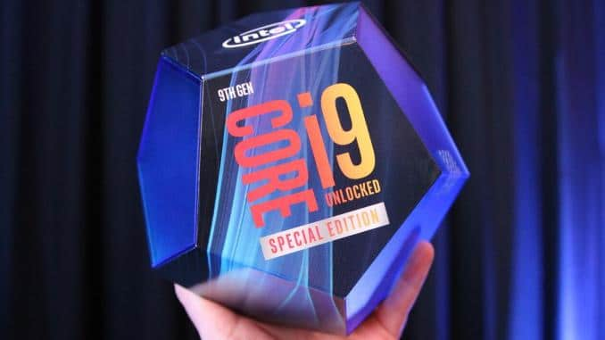 Processeur Intel Core i9-900KS