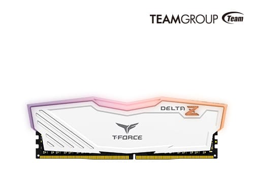TeamGroup T-Force Delta Z blanche