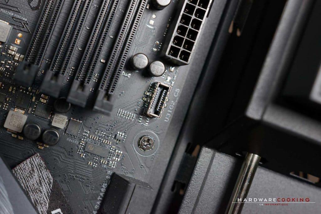 Tuto montage PC branchement USB 3.1 Type-C