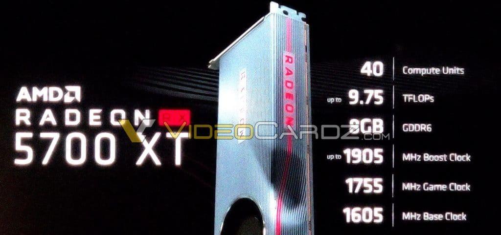 carte graphique AMD Radeon RX 5700