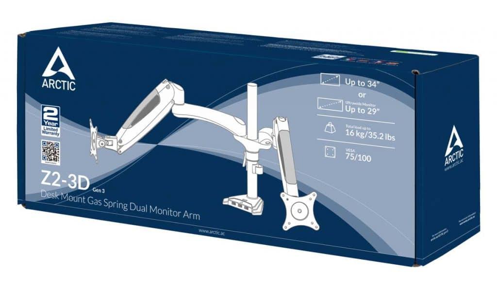 Arctic Z2-3D Gen 3 boite