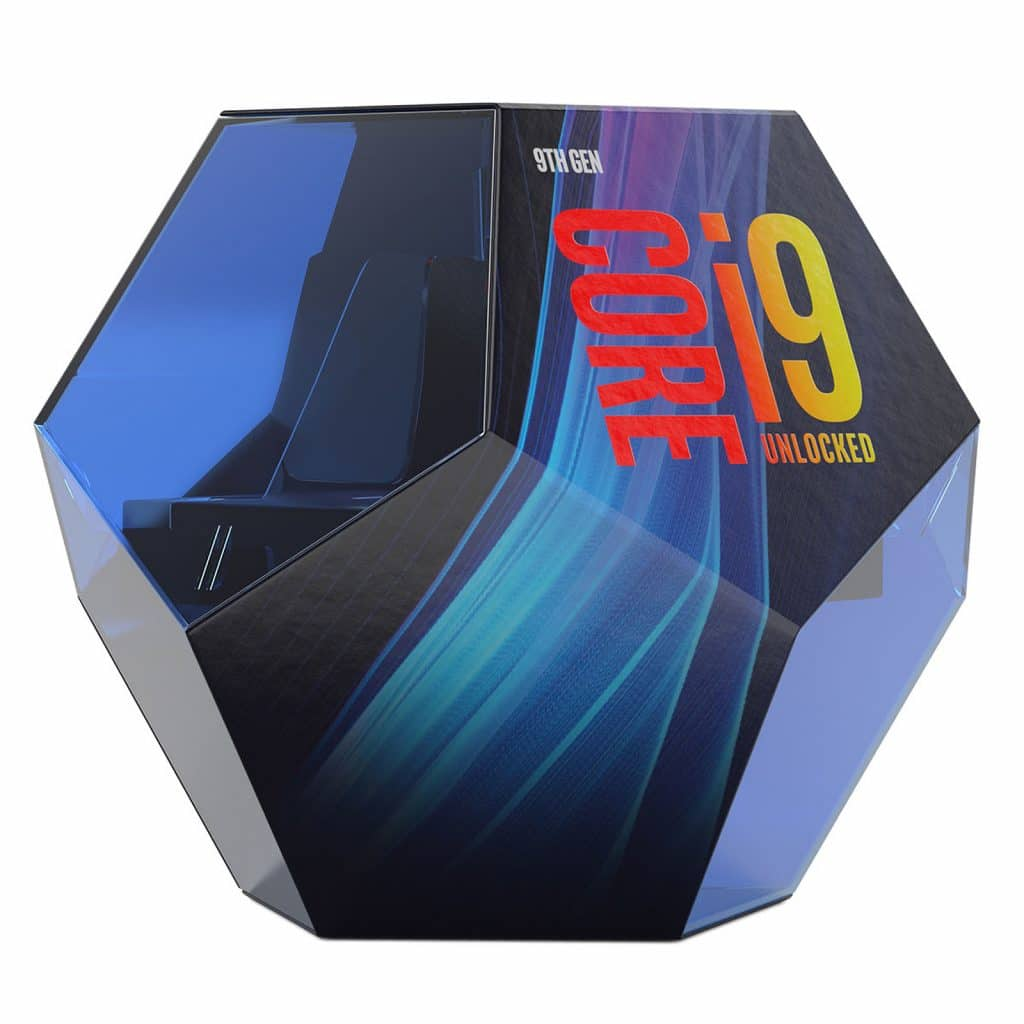 Boîte Intel Core i9-9900K