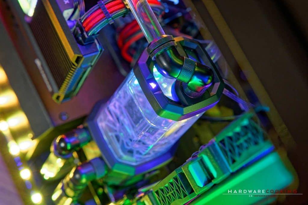 Pompe réservoir Corsair Hydro X XD5 RGB
