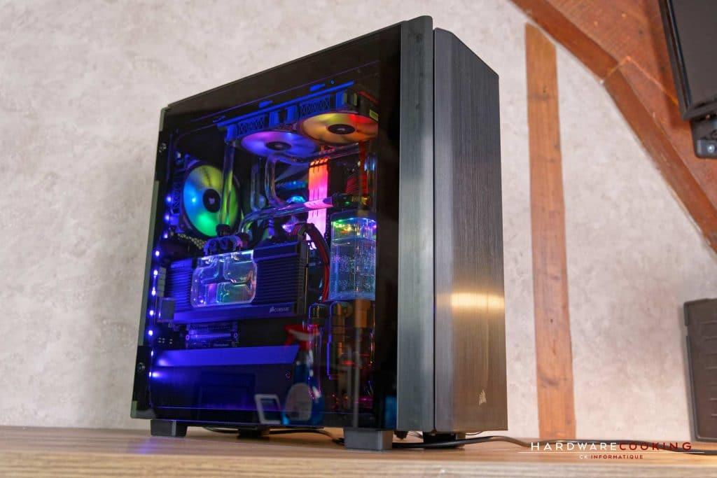 Configuration full Corsair Hydro X Series The HydroX MASTER par hardwarecooking et CK Informatique