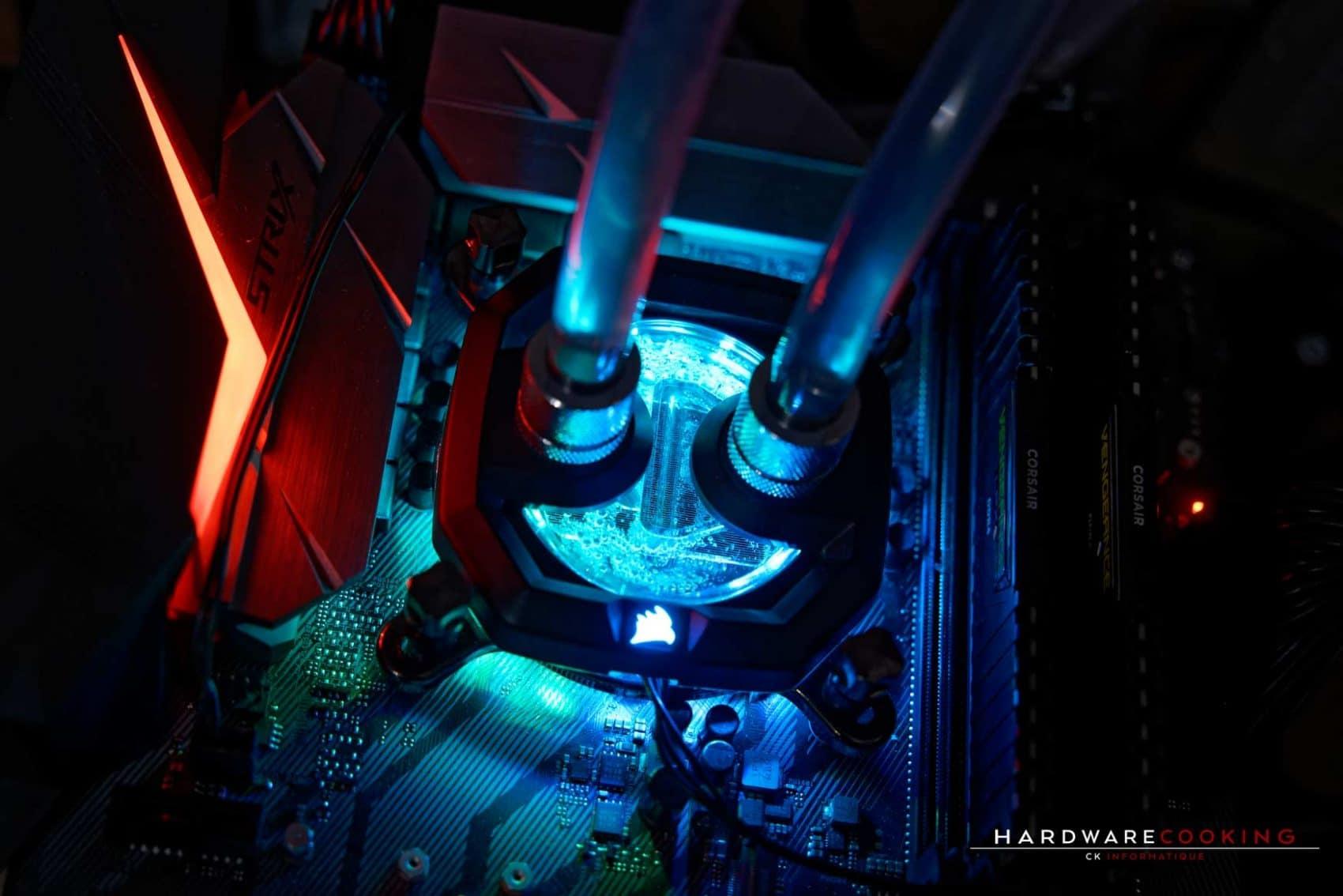Waterblock Corsair XC7 RGB