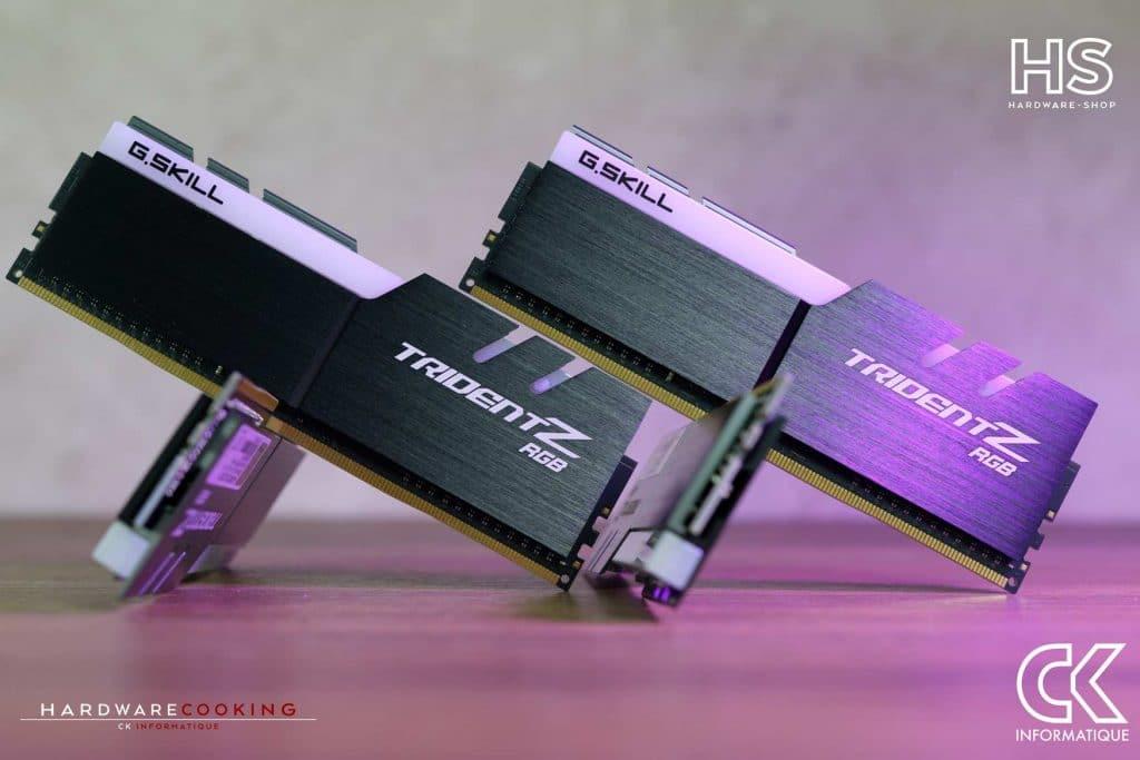 RAM DDR4 G.SKILL Trident Z RGB