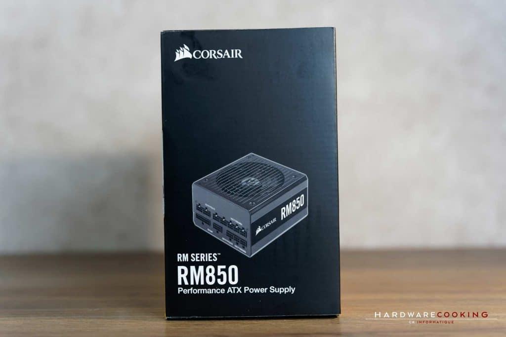 Test alimentation Corsair RM850 Gold