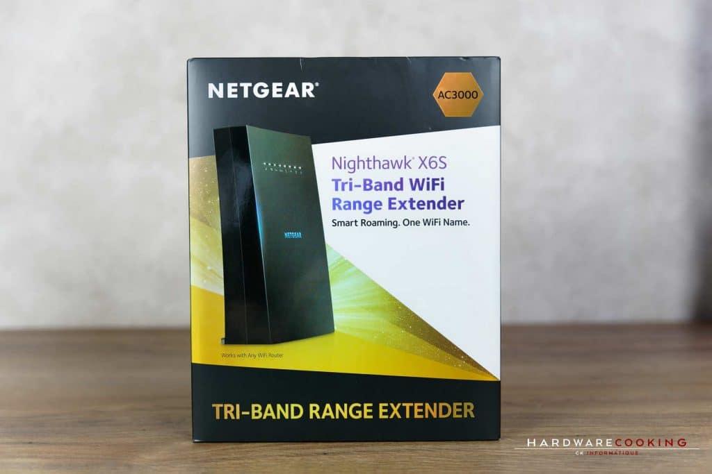 Test répéteur Netgear Nighthawk X6S EX8000
