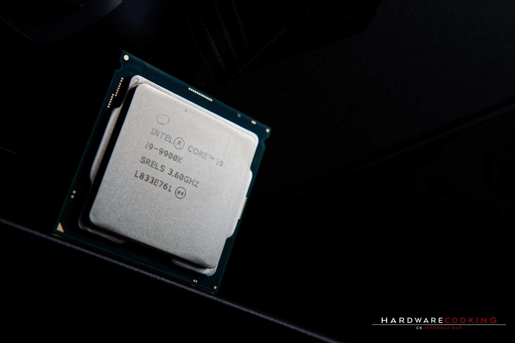 Test processeur Intel Core i9-9900K