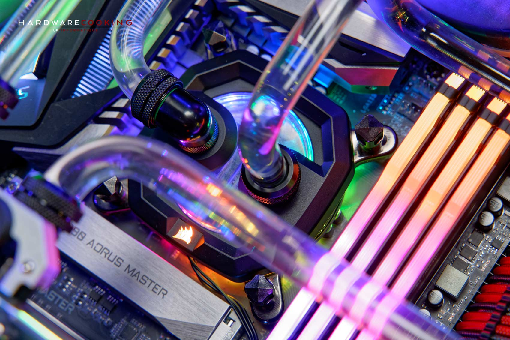 Waterblock Corsair Hydro X XC7 RGB