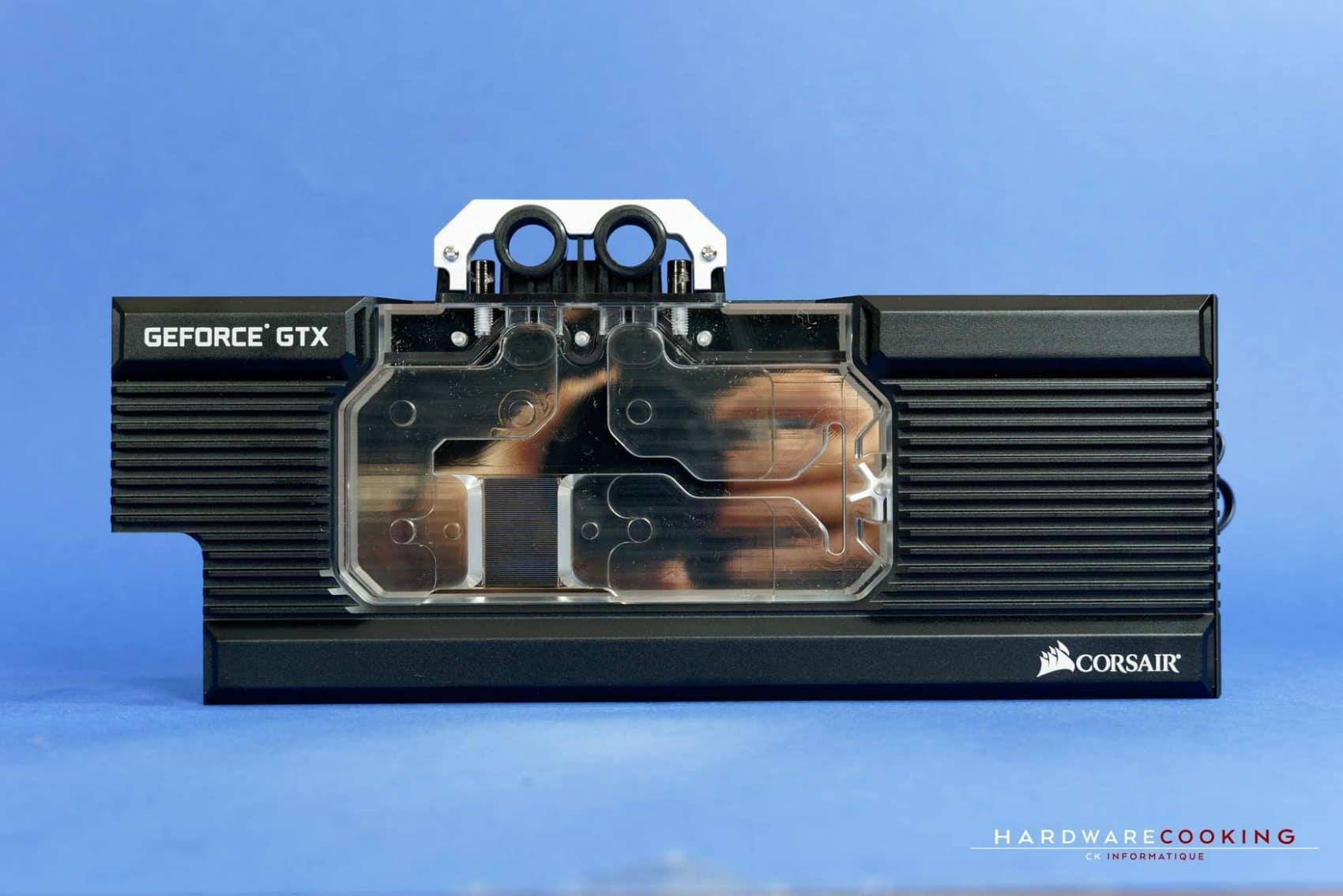 waterblock GPU Corsair Hydro X