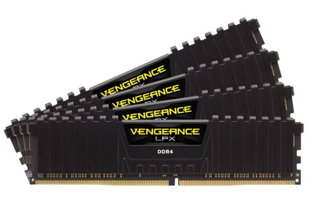 DDR4 Corsair Vengeance LPX 32 Go