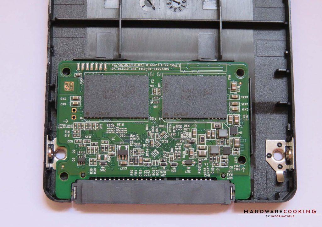 Crucial BX500 intérieur