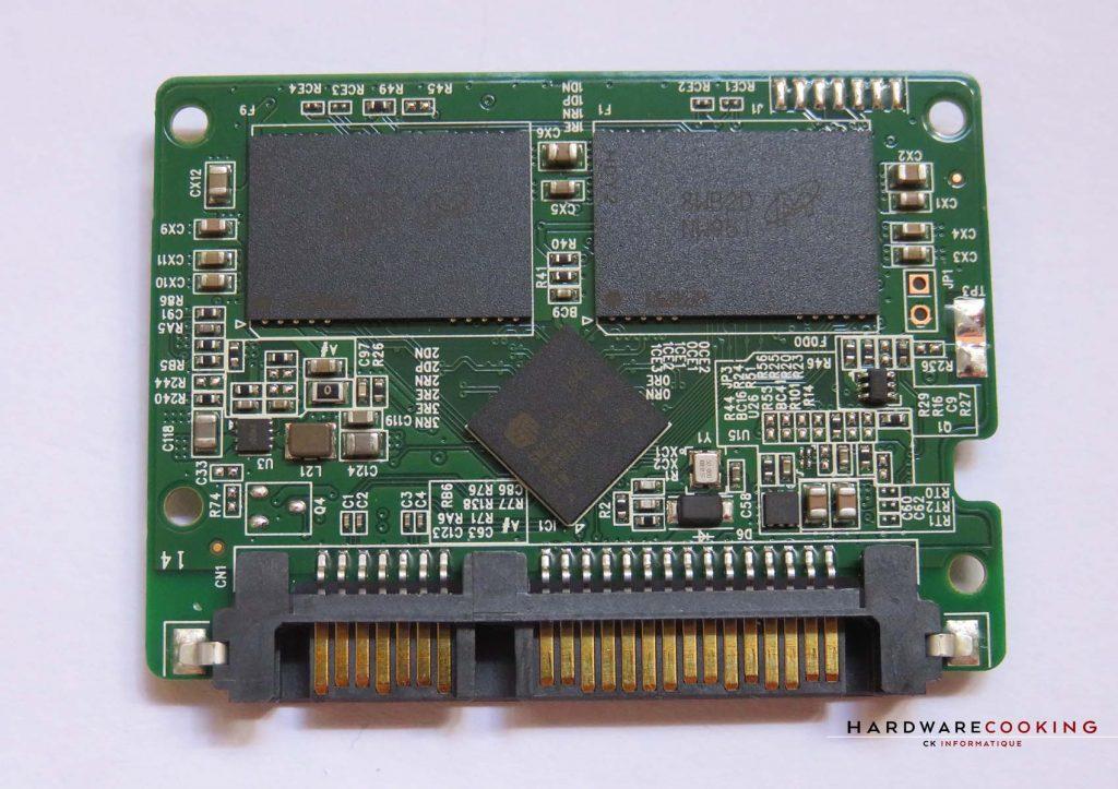 Crucial BX500 pcb
