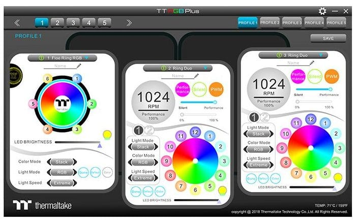 Floe DX RGB TT Premium Edition