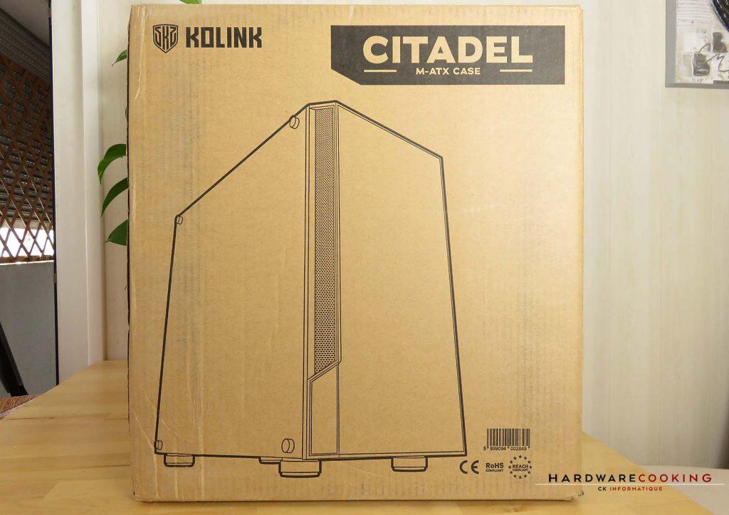 Carton du boîtier Kolink Citadel
