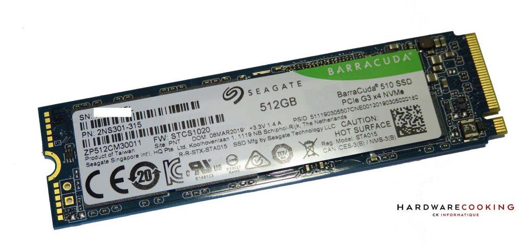 Seagate Barracuda 510 512 Go SSD