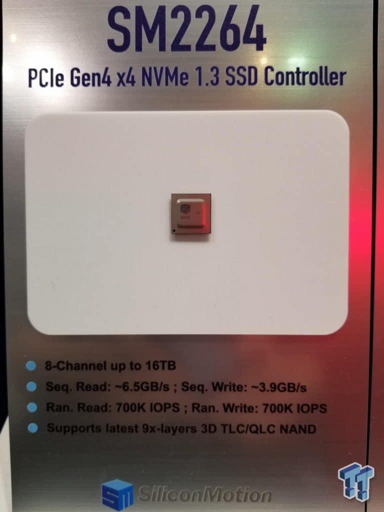 Contrôleur SSD Silicon Motion SM2264